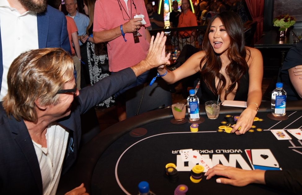 Maria Ho at Tiger's Poker Night presented by WPT