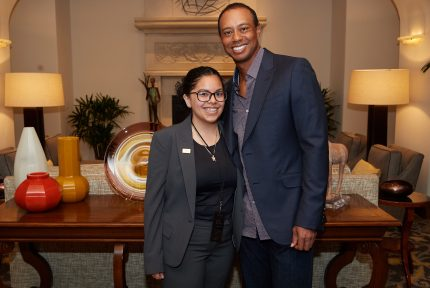 Tiger Woods and Earl Woods Scholar Desiree Sim